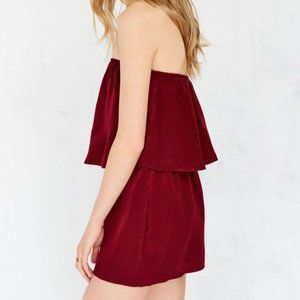 Urban Outfitters Silence & Noise Strapless Romper